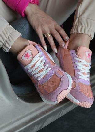 Adidas falcone кроссовки адидас розового цвета (36-41)