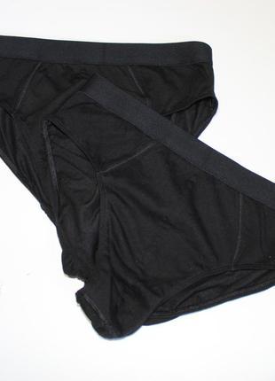 Черные мужские плавки размер м
