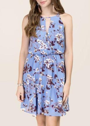 Sale! платье в цветы