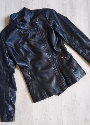 Косуха, кожанка, куртка косуха, куртка из кожзама