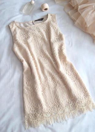 Ажурная нюдовая блузка dorothy perkins