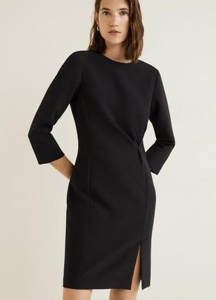 Новое чёрное платье mango