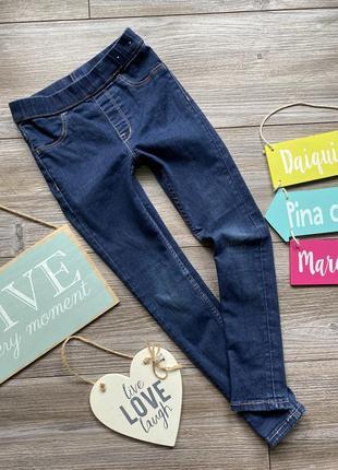 Джеггинсы джинсы h&m 5-6л