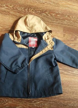 Курточка, ветровка синяя