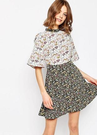 Легкое платье в цветы от asos