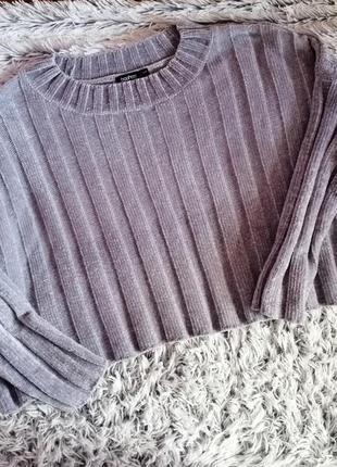 Кроп - свитер