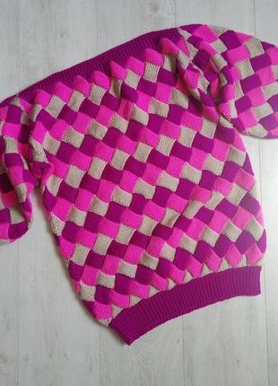 Свитер, свитер вязаный, свитер оверсайз, джемпер