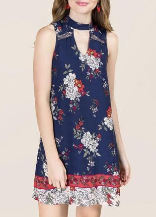Sale! платье с чокером francesca's