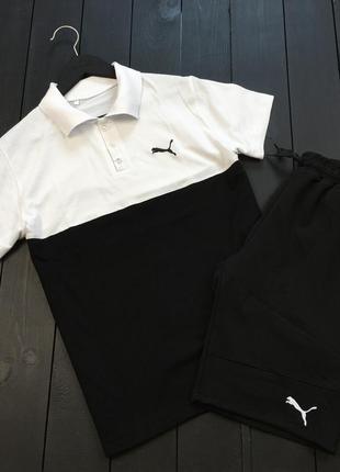 Поло (футболка) + шорты