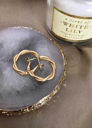 Бижутерия серьги шикарное качество серёжки кольца