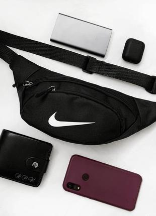 Новая крутая качественная сумка - бананка через плече на пояс / кросбоди / клатч