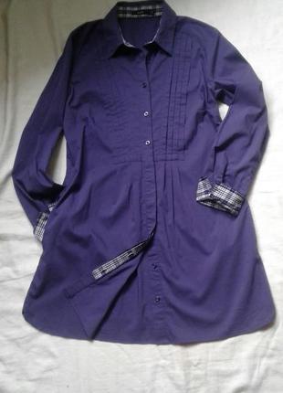 Легкое платье рубашка