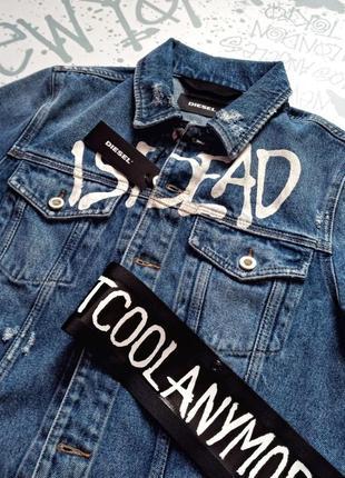 Куртка джинс diesel