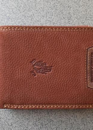 Кожаный портмоне harvey miller polo club sale
