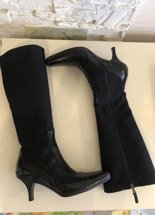 Брендовые люксовые красивые сапоги ботинки от prada