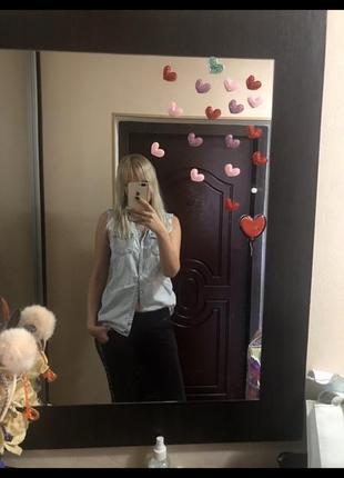 Джинсовая рубашка, рубашка
