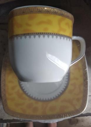 Чайный квадратный сервиз