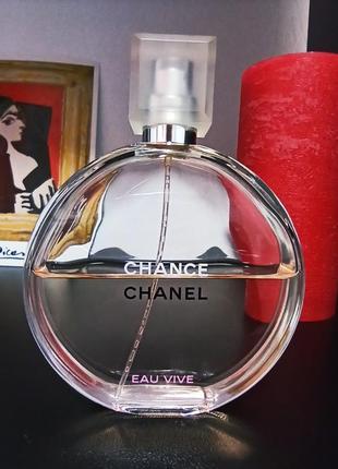 Chance, eau vive, chanel (розпив 5мл, 10мл, 12мл) оригінал  особиста колекція