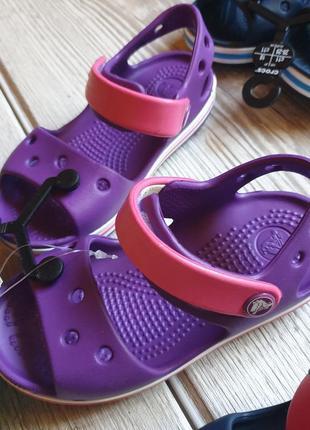 Новые босоножки crocs c8,j2 сандали крокс