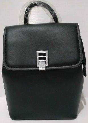 Женский городской рюкзак  (чёрный) 20-06-010