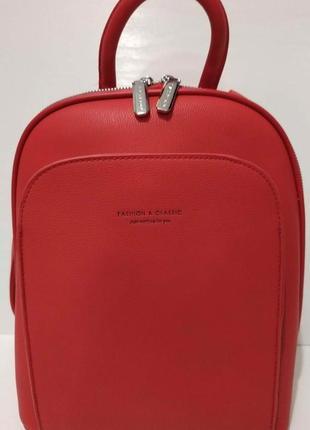 Женский городской рюкзак johnny (красный) 20-06-012
