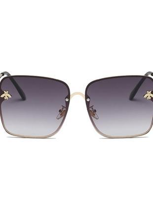 Шикарные солнцезащитные очки в стиле gucci пчелки