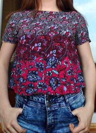 Блуза с индийским принтом sale