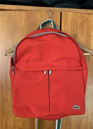 Новый рюкзак lacoste