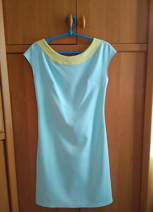 Sale платье новое летнее бирюзовый s m купить украина киев