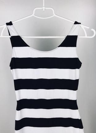 Перепродаж!летнее платье в полоску