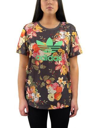 Вкусная фруктовая женская футболка adidas оригинал
