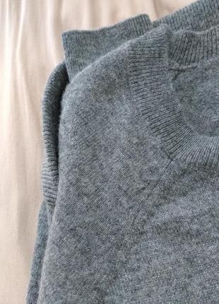 Люксовый свитер джемпер кашемировый шерсть + кашемир от  paul kehl оригинал