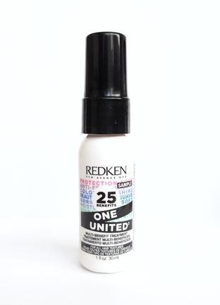 Премиум сегмент! мультифункциональный спрей для волос redken one united elixir 25 в 1 30ml