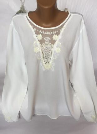 Нежная красивая блуза