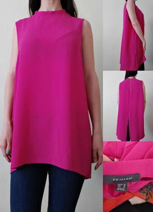 Красивая блуза с удлиненной спинкой
