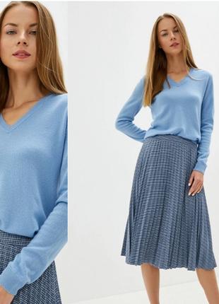 Шикарный свитер 100% мериносова шерсть от united colors of benetton