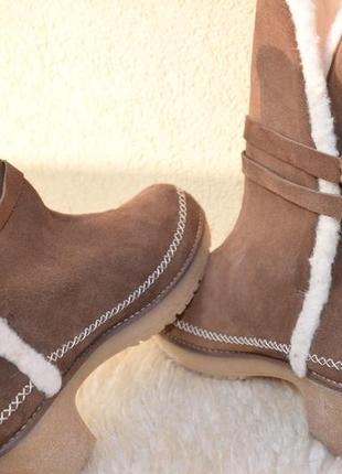 Стильные ботинки демисезонные зимние grand step shoes италия распаровка 39/40