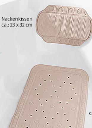 Tukan антискользящий коврик для душа и ванной на присосках  55х55 германия