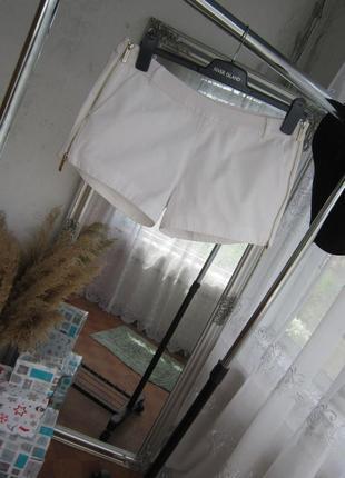 Крутые/ белые/хлопковые/шорты/трансформер/ от/ kira plastinina
