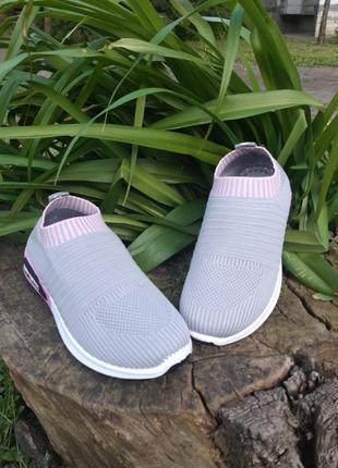 Летние текстильные кроссовки сетка,кеды,мокасины