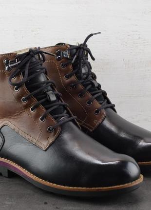 Ботинки clarks. кожа, утеплены. размер 42