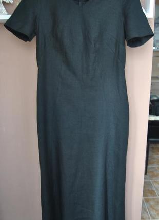 Льняное платье andre renard лен / лляне плаття