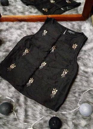 Sale блуза топ кофточка с вышивкой topshop