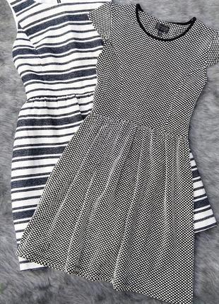 Sale платье скейтер с отрезной юбкой topshop