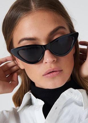 Стильные солнцезащитные очки cat eyes!