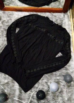 Sale блуза кофточка из натуральной вискозы h&m