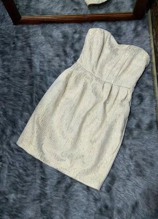 Sale платье бюстье из жаккарда h&m