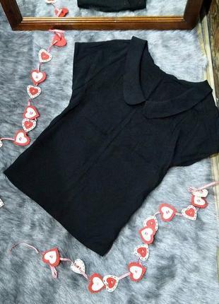 Sale блуза топ кофточка с отложным воротничком tu