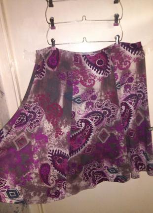 Супер-стрейч-натуральная,трикотажная,юбка,на резинке,большого размера,honor millburn