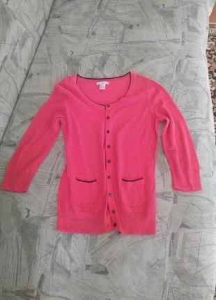 Кофточка, кофта розовая стильная
